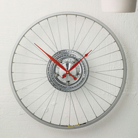 Bike Sprocket Wheel Clock