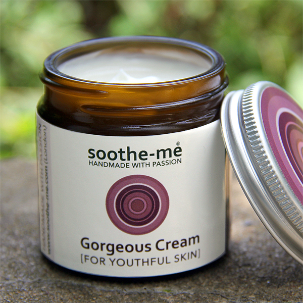 Gorgeous Cream with anti-ageing Rose & Frankincense 60ml