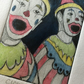 'Colourful Carnival Clowns' original Hand Pulled Print by Debbie Todd
