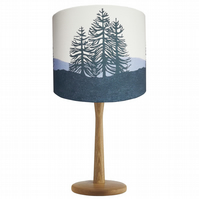 'Monkey Puzzle Trees' Original Design Lampshade