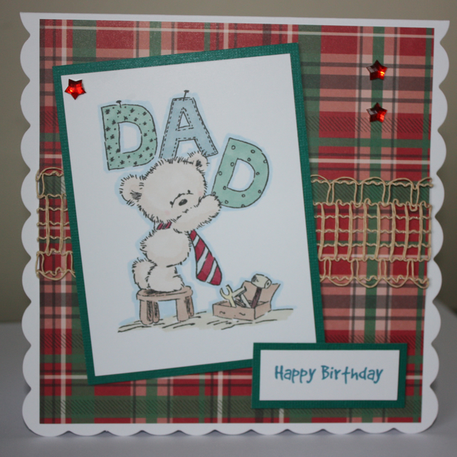 DIY Dad birthday card