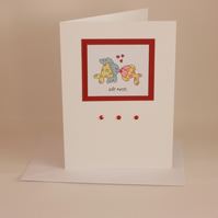 Fishy sole mates card - now reduced