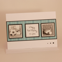 Sporting Happy Birthday card