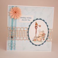 Bunny Birthday wishes - now reduced