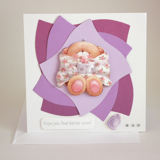 Get well soon card - now reduced