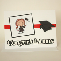 Female Graduation Card