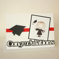 Male graduation card