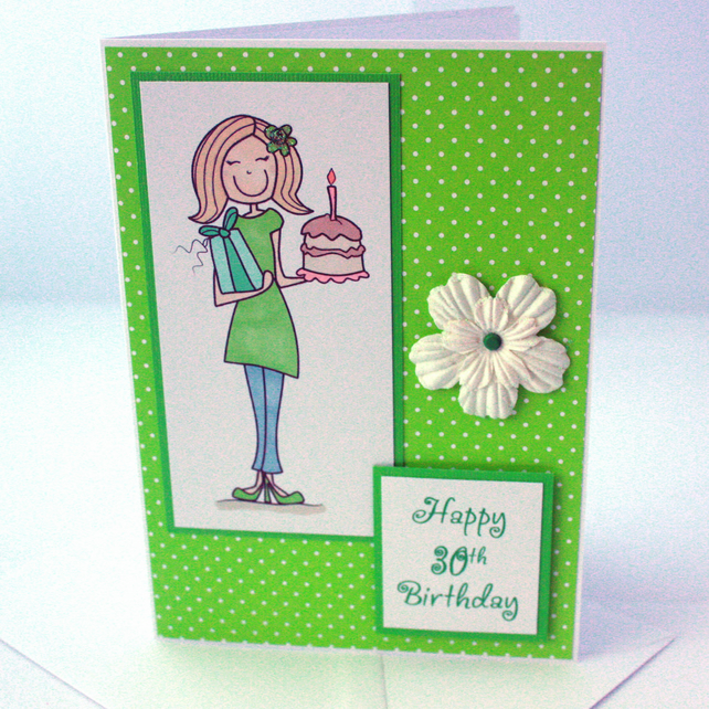 30th Birthday card - now reduced