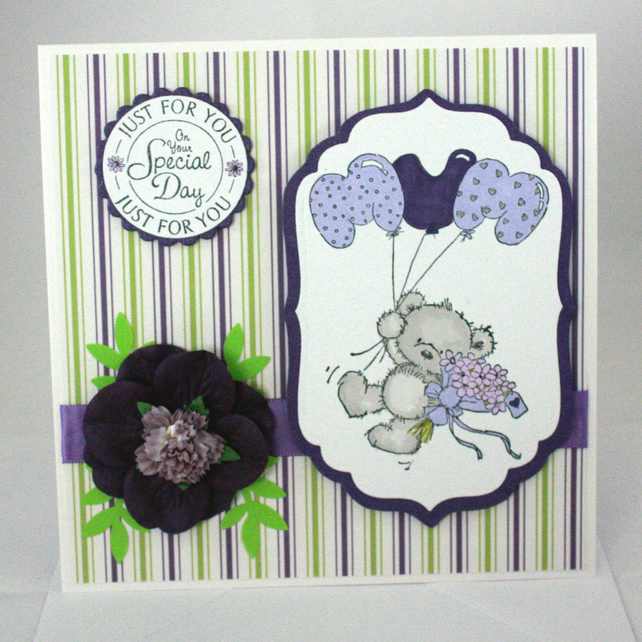 Handmade Mum card - birthday or Mother's Day