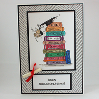 Handmade Exam Congratulations card