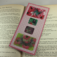 Lenticular butterflies bookmark