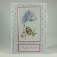 Get well card - under the weather