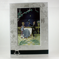 Elegant couple Congratulations card