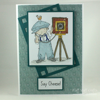 Handmade, any occasion card - the photographer