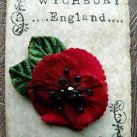 Tiny Poppy Pin (RBL Donation)
