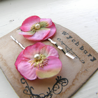 Little Pink Viola Clips