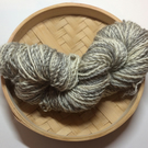 Handspun Naalbinding Natural Grey and White Yarn BFL 100 gr Custom Order