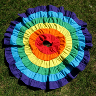 "Rainbow Twirl Skirt (Child) 16"" Length"
