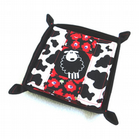 Sheep Patchwork Coaster Set