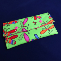 Fabric Purse - Bright Flutterbies