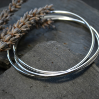 Russian wedding ring bangle