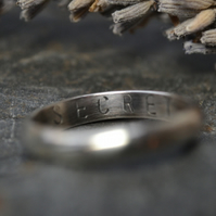 Add personalisation to your ring or bangle