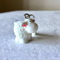 Progress stitch marker Sheep