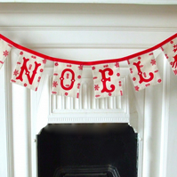Scandinavian inspired Christmas garland