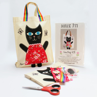 Decorate a Cat bag