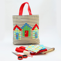 Beach Hut bag sewing Kit