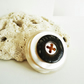 Mother Of Pearl Vintage Button Statement Brooch