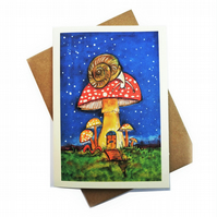 Greeting Cards featured the original watercolour painting by BettyShek