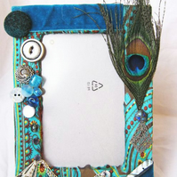 Picture Frame - 'Peacock'