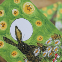 Meredith and the moon hare note book set of three notebooks Mushrooms Magic