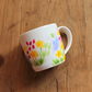 Meadow flowers mug pretty floral cup bright florals