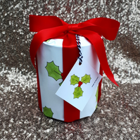 Holly gift wrap pack Christmas wrapping paper gift wrap