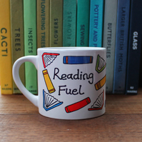 Child's Reading Fuel Mug - Bookish - Book Lovers - Library - Reader's Gift