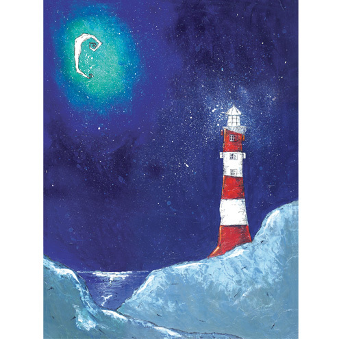 'Lighthouse Moon' Limited Edition Print