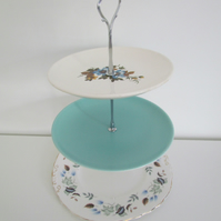 Cake Stand Three tier vintage