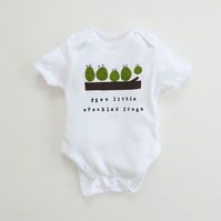 Five Little Speckled Frogs Bodysuit : Large Selection Of Sizes Available