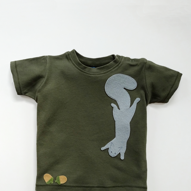 Baby Squirrel  T-Shirt : Baby Shower Gift, Baby Boy