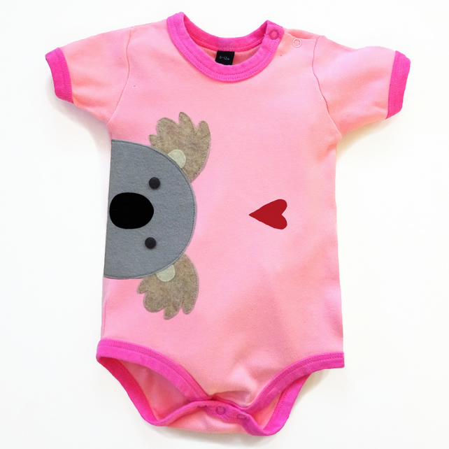 Baby Koala Bodysuit : Baby Girl, Baby Girl Shower
