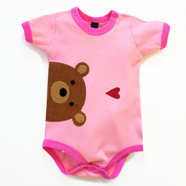 Baby Bear Bodysuit : Baby Girl, Baby Girl Shower
