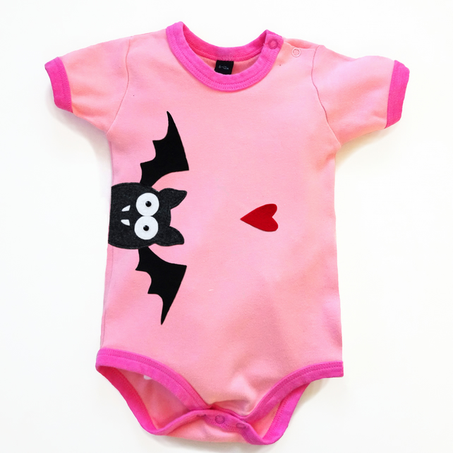 Baby Bat Bodysuit : Baby Girl, Baby Girl Shower, Halloween Bodysuit