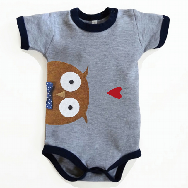 Baby Owl Bodysuit : Baby Boy, Baby Boy Shower