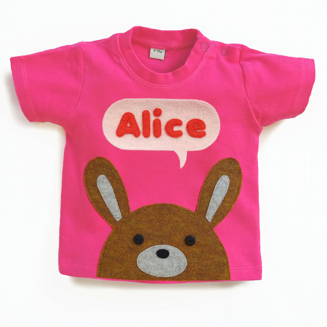 Organic Baby Bunny T-Shirt : 3 months up to 5 years
