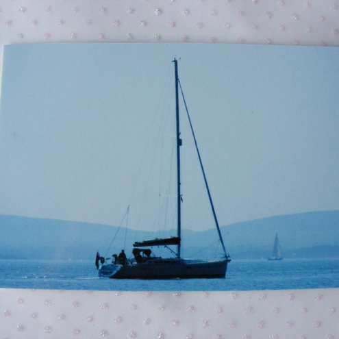 Sailing Photo ACEO