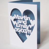 Personalised Hand Cut Card For Every Occasion
