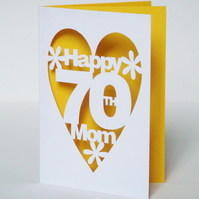 Personalised Hand Cut Card For Any Occasion