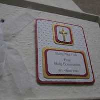 Handmade First Holy Communion Photo or Guest Album